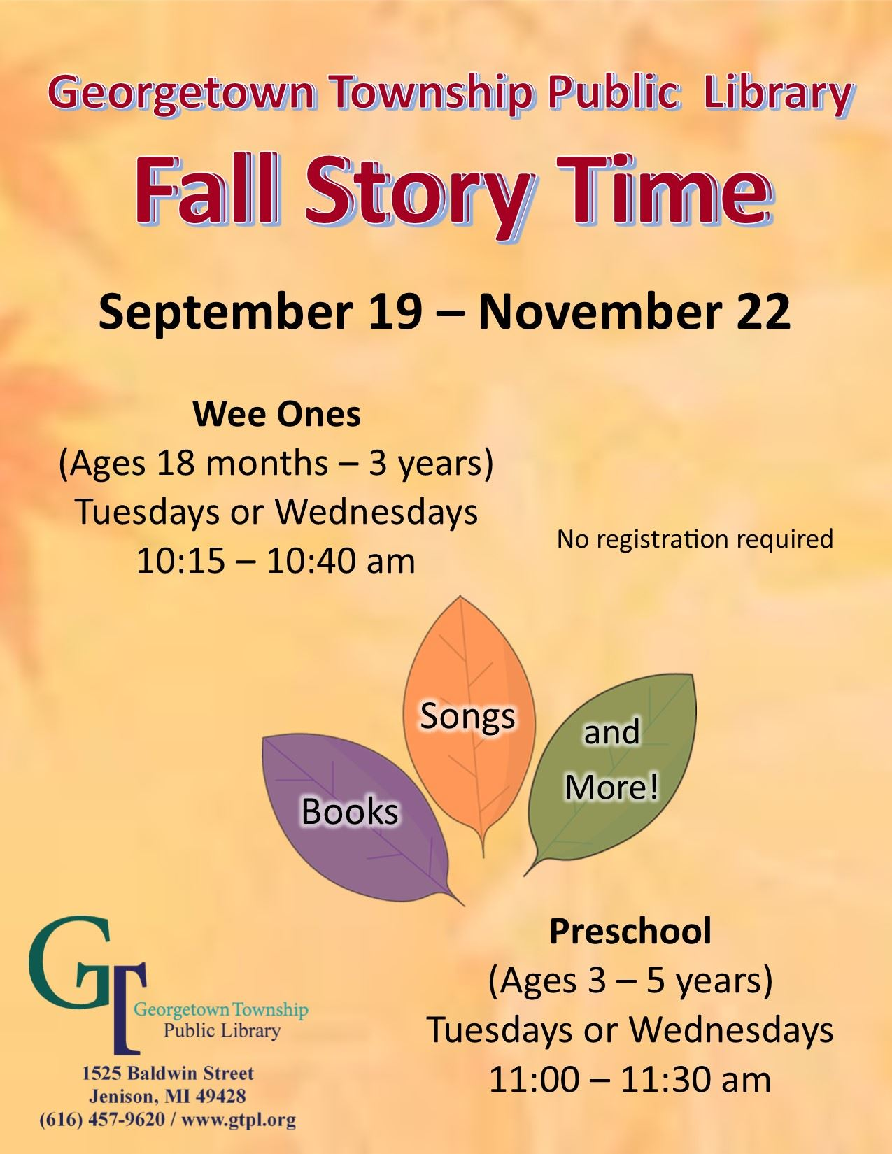 Fall 2017 Story Time Web